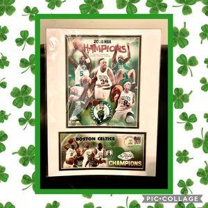 🍀 NBA 2008 Official Boston Celtics Finals Poster